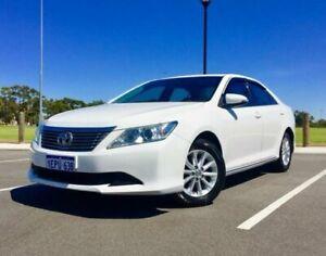 2014 Toyota Aurion GSV50R AT-X Diamond White 6 Speed Automatic Sedan