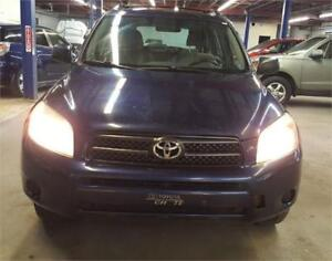 2007 TOYOTA RAV4 AWD 4CYLINDRE A/C GROUP ELECTRIQUE AUX MP3
