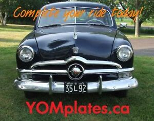 Classic Car YOM License Plates - Ministry Approval Guaranteed! Belleville Belleville Area image 10