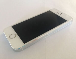 Apple iPhone 5S 16GB Silver Bell & Virgin Excellent Condition
