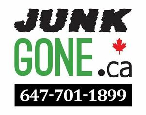 Attn: Landlords & Homeowners NEED JUNK GONE? ☎ 647.701-1899 ❤♺