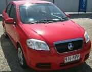 2009 Holden Barina TK MY09 Red 5 Speed Manual Sedan Bungalow Cairns City Preview