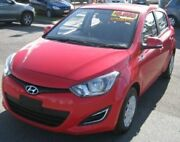 2013 Hyundai i20 PB MY13 Active Red 4 Speed Automatic Hatchback Bungalow Cairns City Preview