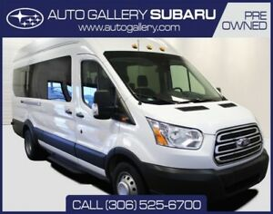 2017 Ford Transit Wagon XLT | MID ROOF | 15 PASSENGER | TOW PACK