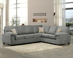GREY SECTIONALS ON SALE (ND 145)