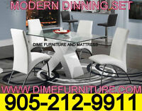 NO TAX!! MODERN DINING TABLE SET