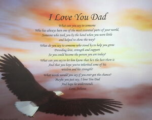 I-LOVE-YOU-DAD-POEM-PERSONALIZED-GIFT-BIRTHDAY-CHRISTMAS ...