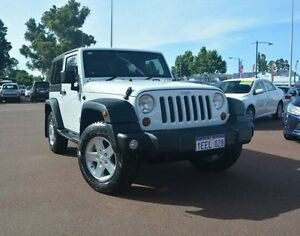 2013 Jeep Wrangler JK MY2013 Sport White 6 Speed Manual Softtop Gosnells Gosnells Area Preview