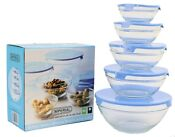 Glass Food Containers with Lids
