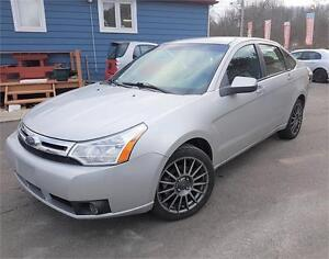 2009 Ford Focus SES|LEATHER | LOADED| EASY CAR LOANS ANY CREDIT