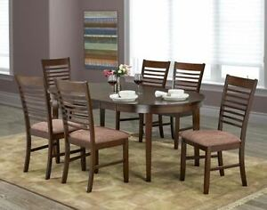 WOODEN TOP DINETTE TABLE DINNING TABLE SET LUCINDO