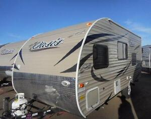 2017 OASIS 18 BH  BUNK BEDS - FULL FEATURED! FULL VALUE!!