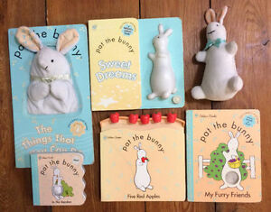 PAT THE BUNNY board books! $3 each or all 6 for $15