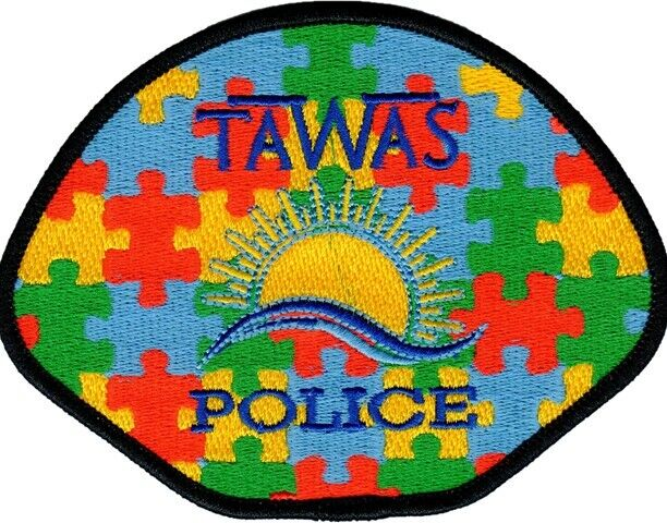 Autism Awareness Patch - Tawas City Police Department