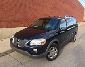 2006 PONTIAC MONTANA *7 PASS,DVD,CHROME RIMS,LOW KMS!!!*