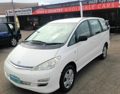 2005 Toyota Tarago ACR30R MY03 GLi White Automatic Wagon Vincent Townsville City Preview