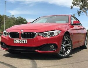 2013 BMW 428i F32 Sport Line Red 6 Speed Manual Coupe Kings Park Blacktown Area Preview