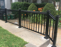 Brampton railing column fance Mississauga FACTORY DIRECT SAVINGS