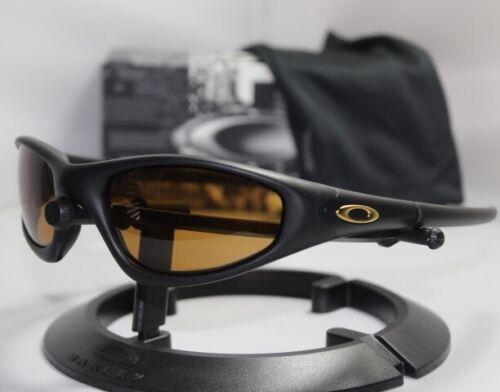 New Oakley Straight Jacket 1.0 Sunglasses Black/Bronze Lens 30-986