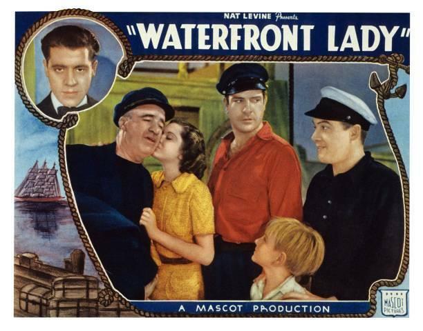 OLD MOVIE PHOTO Waterfront Lady US Lobby Card Jack La Rue J Farrell Ann