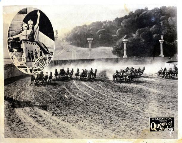 OLD MOVIE PHOTO Queen Of Sheba Lobby Card Betty Blythe 1921 2
