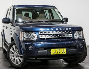 2013 Land Rover Discovery 4 Series 4 L319 MY13 SDV6 SE Blue 8 Speed Sports Automatic Wagon Rozelle Leichhardt Area Preview