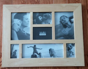 "New Studio Woods 18.5"" x 14.5"" Collage Photo Frame"