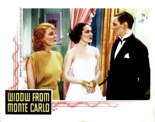 OLD MOVIE PHOTO The Widow From Monte Carlo Poster Viva Tattersall