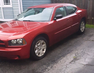 LOADED RED 2006 DODGE CHARGER V6 SEDAN - PRICED TO SELL QUICK!!!