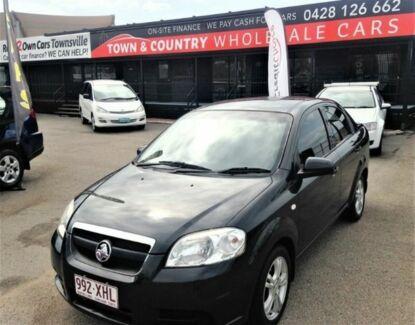 2009 Holden Barina Black Semi Auto Sedan Vincent Townsville City Preview