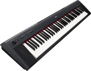 Yamaha Piaggero NP31 76 keyboard with stand, new