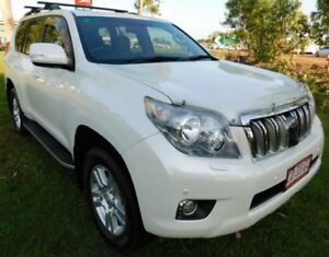 2011 Toyota Landcruiser Prado GRJ150R Kakadu White 5 Speed Sports Automatic Wagon Berrimah Darwin City Preview