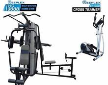 Multi Station Home Gym and Cross Trainer Package Bibra Lake Cockburn Area Preview
