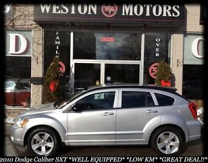 2010 Dodge Caliber SXT*WELL EQUIPPED*LOW KM*BUY HERE-PAY HERE!
