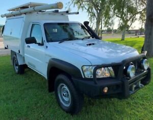 2013 Nissan Patrol Y61 GU 6 SII MY DX White 5 Speed Manual Cab Chassis Berrimah Darwin City Preview