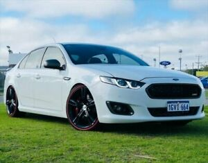 2016 Ford Falcon FG X XR6 Turbo White 6 Speed Sports Automatic Sedan Kenwick Gosnells Area Preview