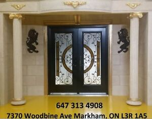 Front Doors+Decorative Glass inserts+Stairs parts+services