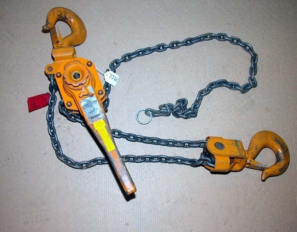 Beebe Roustabout 6 Ton Lever Hoist (Inv.7330)