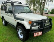 1998 Toyota Landcruiser HZJ75RV Troopcarrier White 5 Speed Manual Hardtop Berrimah Darwin City Preview