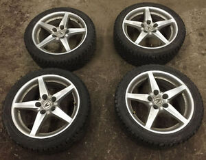 2005-2006 Acura RSX Type S Rims with Winter Tires - $700