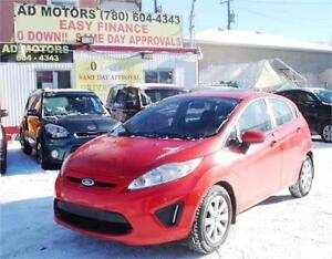 2013 FORD FIESTA SE SUNROOF AUTO LOADED HATCHBACK 100% FINANCING