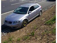 Audi a3 1.6 spares or repairs. 03. 117k.