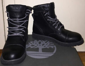 Mens Timberland Black Boots Size 9 US