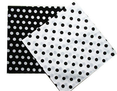 Polka Dot Bandana (Fashion Polka Dot Cotton Bandanas Headwear Hair Band Scarf Neck)