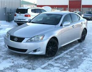 2006 LEXUS IS 250 AWD 181,000KM CUIR/TOIT/MAGS/GPS/CAMERA !