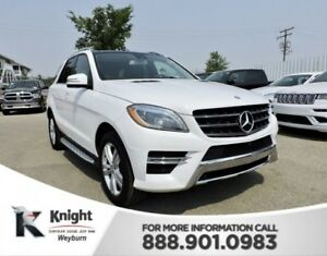 2014 Mercedes-Benz M-Class ML 350 BlueTEC Diesel Heated Leather