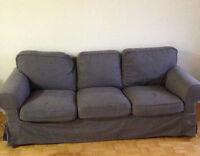 6 month old 3 seater Ikea Ektorp couch - BLACK FRIDAY deal