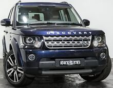 2015 Land Rover Discovery Series 4 L319 MY15 SDV6 HSE Blue 8 Speed Sports Automatic Wagon Rozelle Leichhardt Area Preview