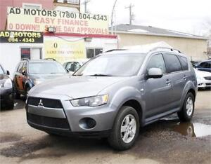 "2013 MITSUBISHI OUTLANDER ES 4X4 "" NO ACCIDENT "" 100% FINANCING!"