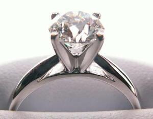 1.55 ct Engagement. Ring / 0.41 ct Wedding Ring Kingston Kingston Area image 2